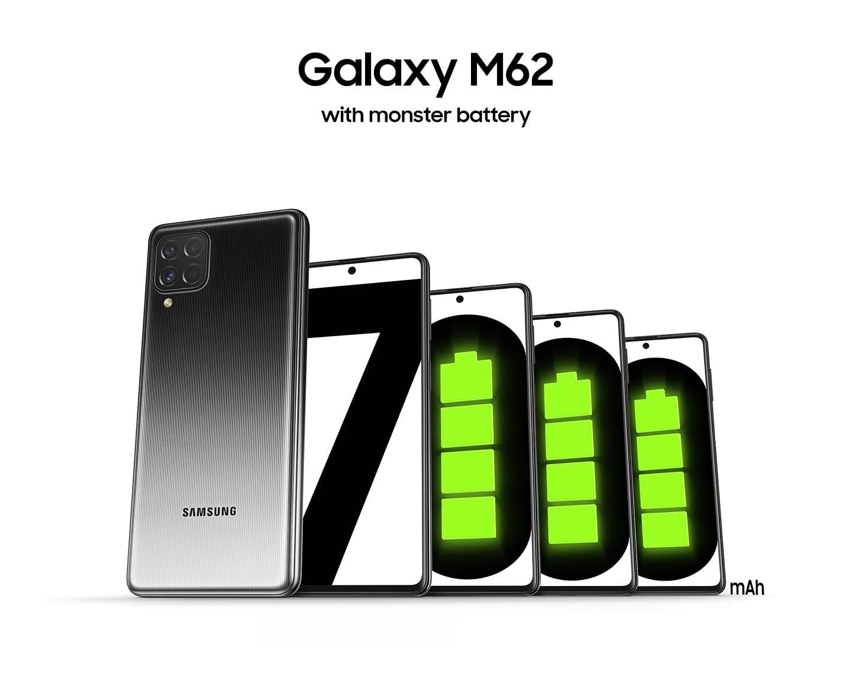 باتری گلکسی M62